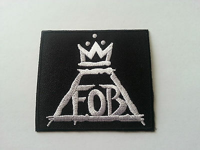 HEAVY METAL PUNK ROCK MUSIC SEW / IRON ON PATCH:- FALL OUT BOY (a) PATRICK STUMP