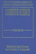 Cognitive Science Vol. 3 by Noel Sheehy and Antony J. Chapman (1995, Hardcover)
