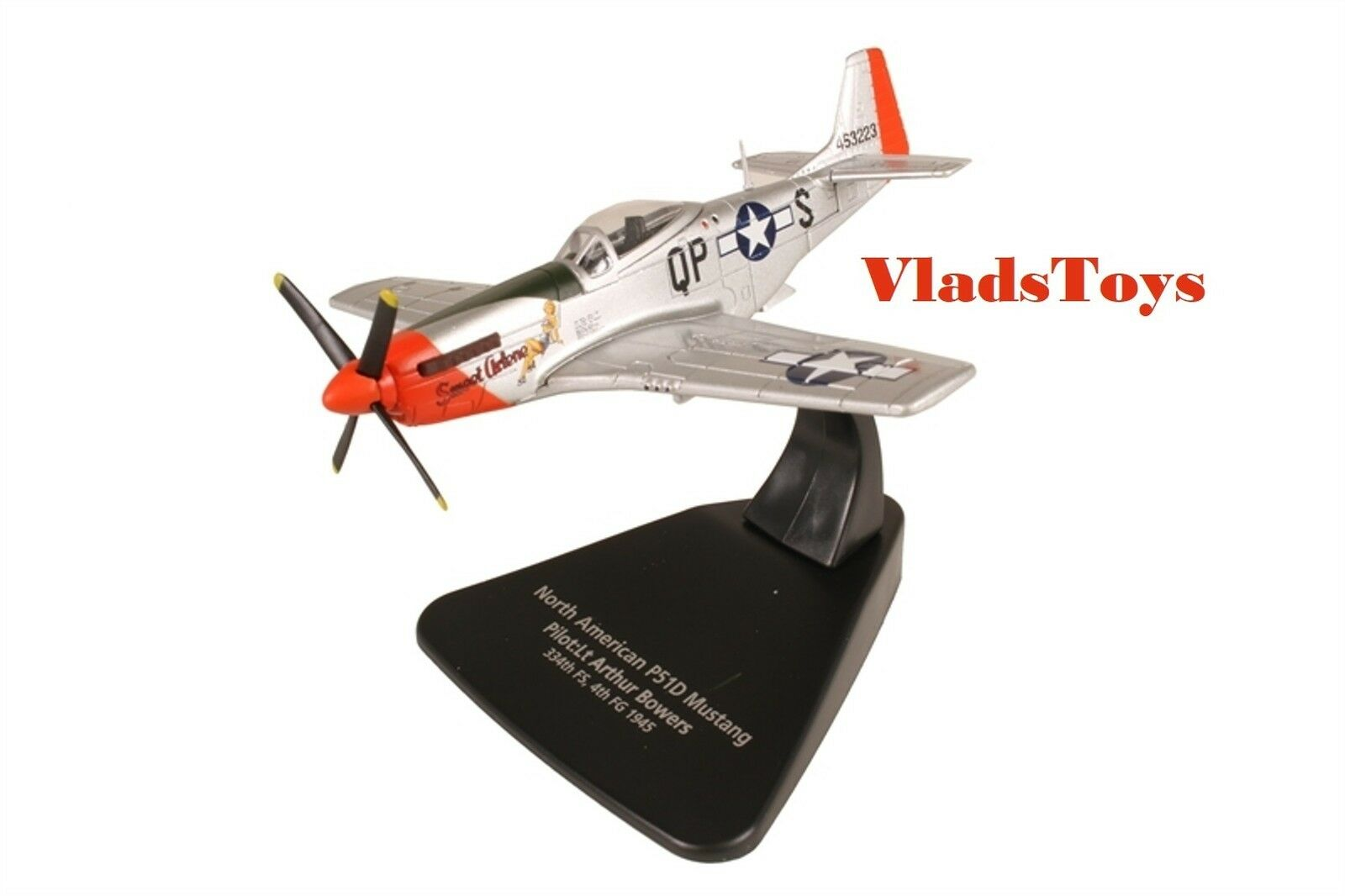 Oxford 1 72 P-51D Mustang USAAF 4th FG 334th FS Sweet Arlene Arthur Bowers AC079