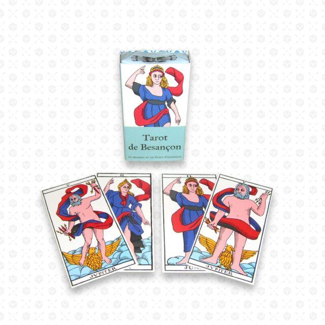 Mini Tarot de Besançon de style ancien Nicolas Conver Marseille mythologique