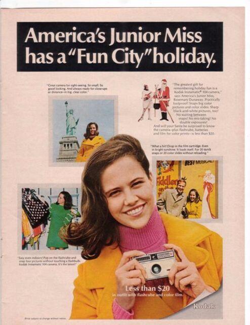 1967 Kodak Instamatic 104 Camera America Junior Miss ...