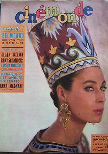 Cinema-Rita-Gam-Belmondo-Delon-Schneider-Magnani-Hudson-N-1370-Kodak-1960