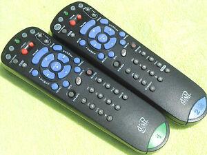 2 NEW DISH NETWORK Bell ExpressVU 3.0 IR #1 /& 4.0 UHF #2 REMOTE CONTROL 322 3200