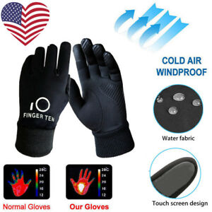 Gloves-Winter-Kids-Youth-Fleece-Liner-3M-Windproof-Biking-Outdoor-Cold-Weather