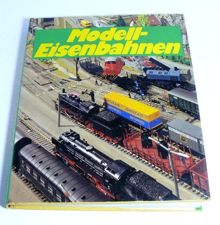 Modell-Eisenbahnen Locomotora Vagón Modelismo Ferroviario Anlggen Libro y Tiempo