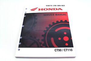 new service shop repair manual 77 82 ct90 ct110 trail 90 110 oem rh ebay com CT90 CT110 honda ct90 shop manual
