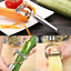 Stainless-Steel-Cutter-Peeler-Graters-Slicer-Vegetable-Fruit-Kitchen-Accessories thumbnail 1