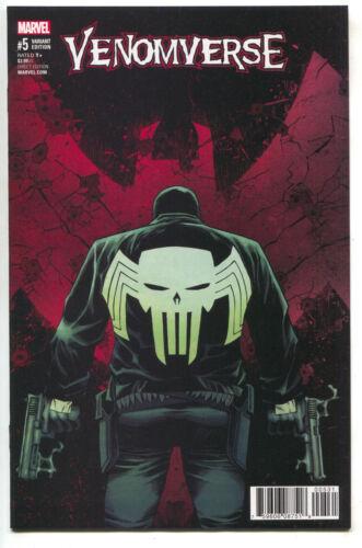1:50 Declan Shalvey Variant Venom Punisher Carnage Venomverse 5 Marvel 2017 NM
