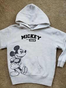 Disney Girls Mickey Mouse Wording Logo Hoodie