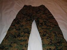 New USMC FROG Woodland Marpat Camouflage Pants size Medium Long