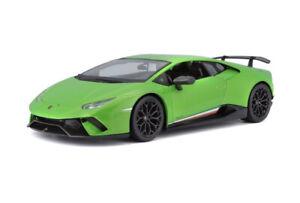 Lamborghini-Huracan-Temps-edicion-especial-de-Maisto-escala-1-18-Verde-Nuevo