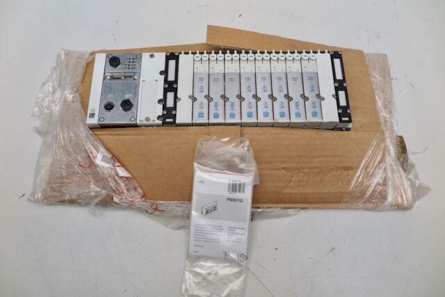 FESTO Terminal CPX-M-FB33 Valve Manifold w/ 537953, 537957,MPA2-FB-EMS-4,537983