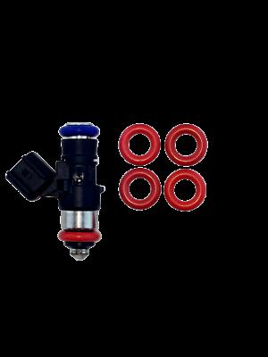 Set of 8 Bosch Type 3 Fuel Injector Pintle Cap Retainer LS1 Oring End Tips
