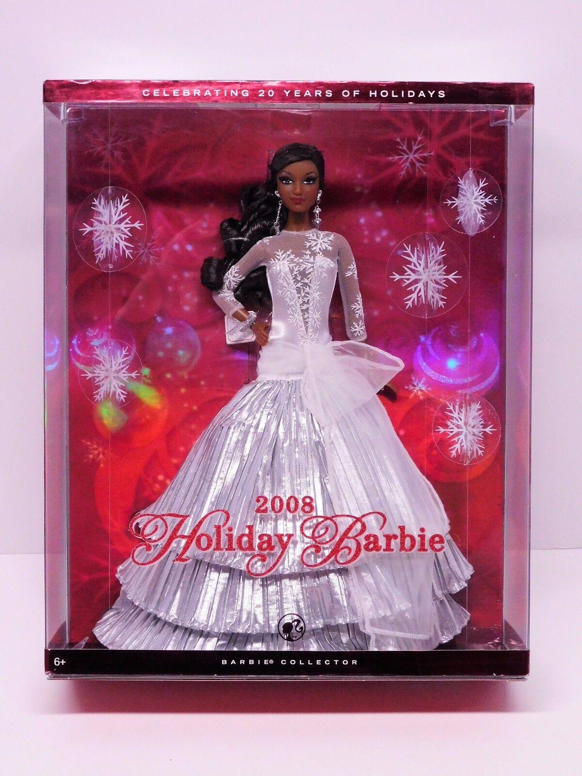 Barbie 2008 Holiday (AA) y la celebración de Navidad Carol 20 años _ L9644 _ nunca quitado de la caja