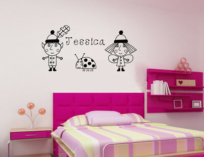 BEN AND HOLLY/'S LITTLE KINGDOM PRINCESS HOLLY PERSONALISED VINYL DECAL Sticker
