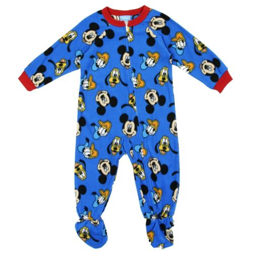 Disney Boys/' Toddler Mickey Mouse /& Pals Fleece Footed Blanket Sleeper
