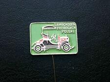 OLD VINTAGE- PIN - BADGE - SAMOCHODEM PO DROGACH car club - Poland !!