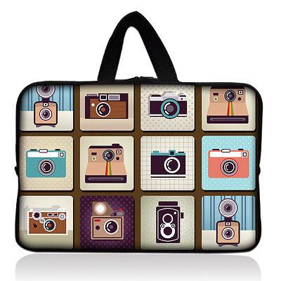 "Cameras Soft Neoprene Sleeve Bag Case+ Handle For 7.9"" Apple Ipad Mini Tablet PC"