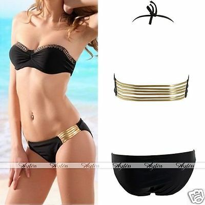 New Women Diamond Push-up Bathing Suit Bikini Beach Swimwear Swimsuit