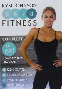 kym johnson 5678 fitness 30 day home fitness program dvd