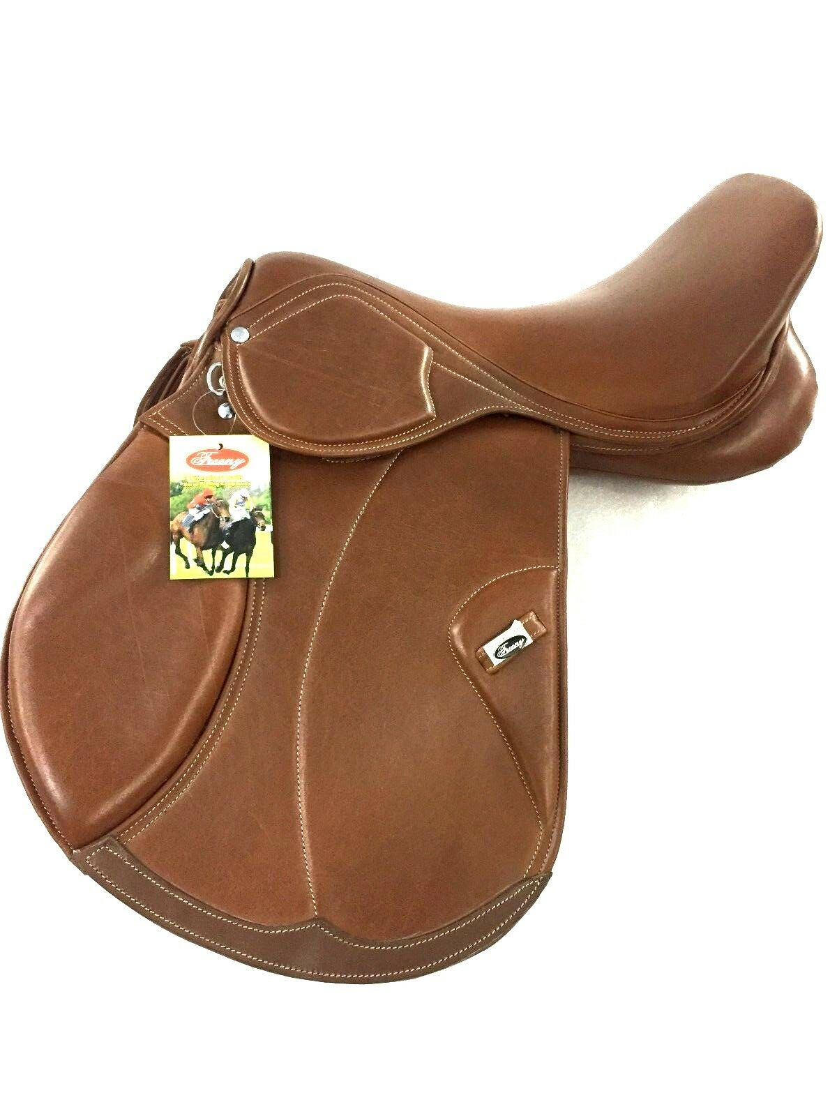New Softy Padded Leather English   All Purpose Branded Saddle  the most fashionable
