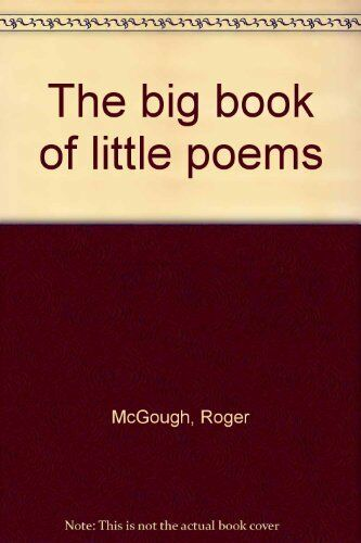 The big book of little poems, New Books