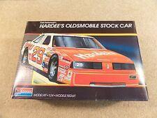 New 1987 Monogram 1:24 Model Kit NASCAR Cale Yarborough Hardee's Oldsmobile #29