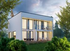 2690 Sqft Eco Solid Timber Airtight Panel House Kit Mass Wood Clt Home Prefab