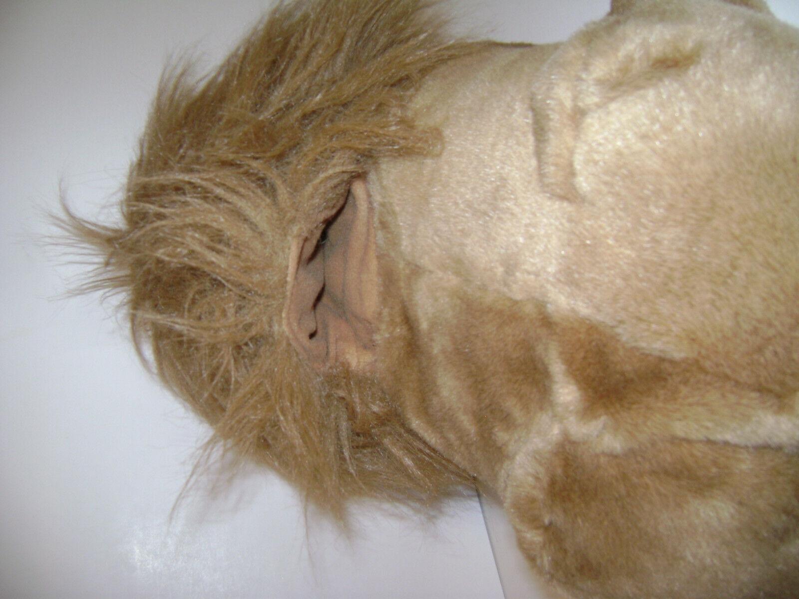 Folktails Folkmanis Furry Folk Folk Furry Full Body Lion Hand Puppet Plush Stuffed 21