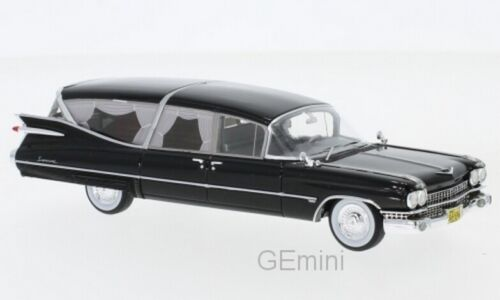 1959  1//43 NEO 49596 Cadillac Superior Corbillard