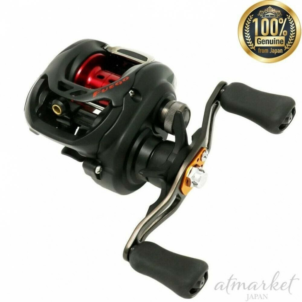 Daiwa Bait Reel Fuego CT 103HL left Fishing genuine from JAPAN NEW