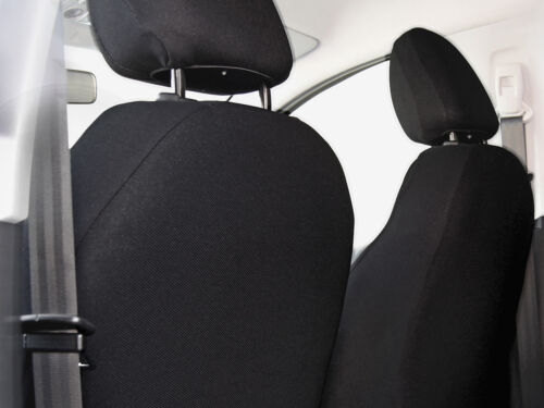 Front car seat covers fit Peugeot 308 P4 charcoal grey