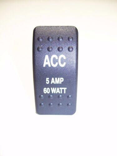 5 AMP ACC ACCESSORY HARNESS /& SWITCH KIT 6 FT KIT#33 HONDA PIONEER 700 2P//4P