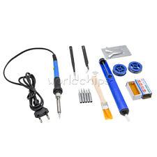 220v 60w Adjustable Electric Temperature Gun Welding Soldering Iron Tool Kit