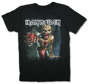 Iron-Maiden-Book-Of-Souls-North-American-Tour-Black-T-Shirt-New-Official-Merch