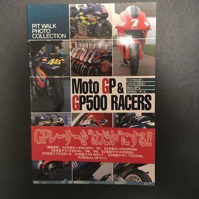 Moto GP Racer/'s Archive 2003 Photo Collection Book Japan KA