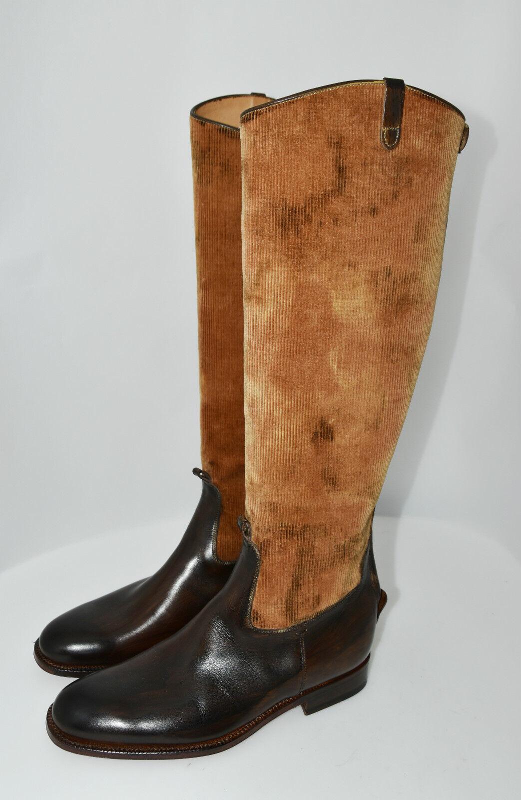 WOMAN ZIPPER BOOT - STIVALE women - 37 - CALF+VELVET - VITELLO+VELLUTO -LTH SOLE