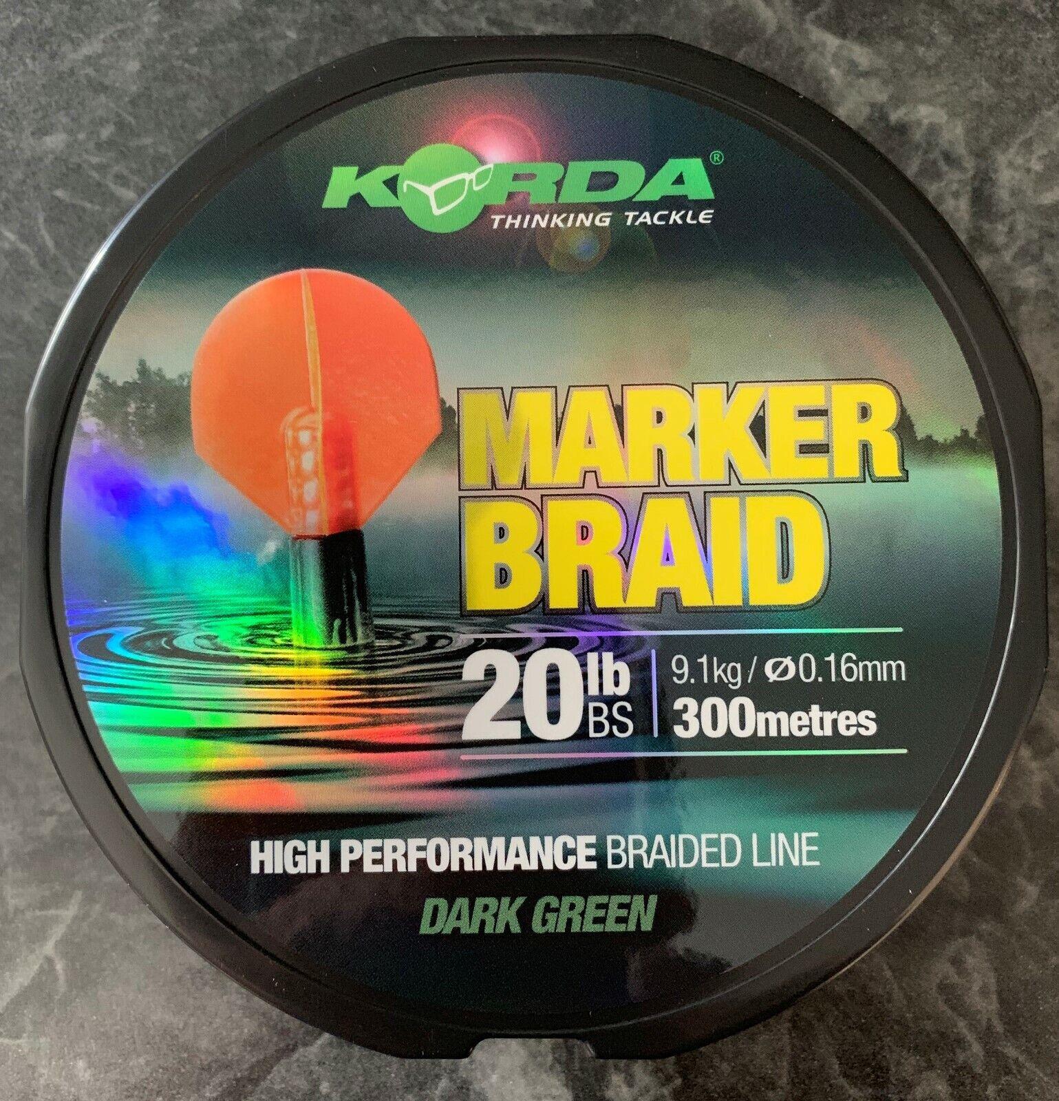 Korda Marker Braid  - 25lb - 300m  online shopping sports
