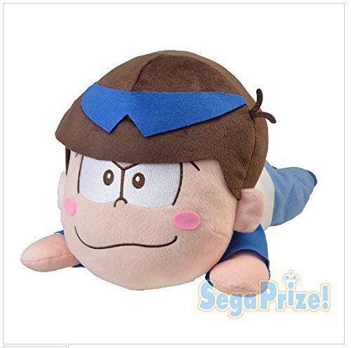 Osomatsusan mega jumbo Nesoberi stuffed Karamatsu