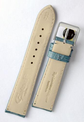 18mm XS KURZ echt ALLIGATOR BAND Germany Louisiana Krokoband