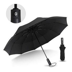 8ec322de00b8 Details about Ambrellaok Compact Umbrella Windproof Auto Travel Folding  Rain Umbrellas, Ergono