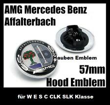 Mercedes Benz 57mm AMG Affalterbach Hauben Emblem für W E S C CLK SLK Klasse