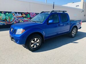 2012 NISSAN FRONTIER 4WD PRO-4X