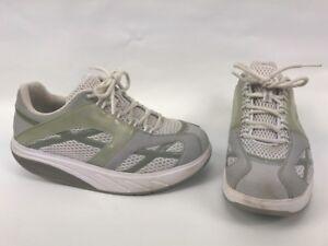 7a00ea3fe26e MBT M Walk Womens Gray Silver Pain Relief Walking Sneaker Shoe size ...