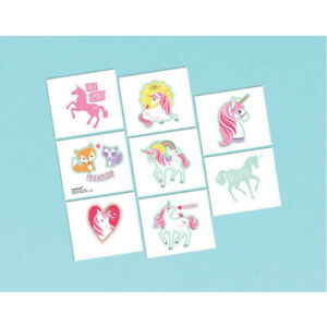 Unicorn-Party-Supplies-Magical-Unicorn-Party-Favour-Temporary-Tattoos-8-Pack