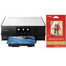 Canon PIXMA TS9020 Wireless All-in-One Inkjet Printer w/ PP-301 Photo Paper