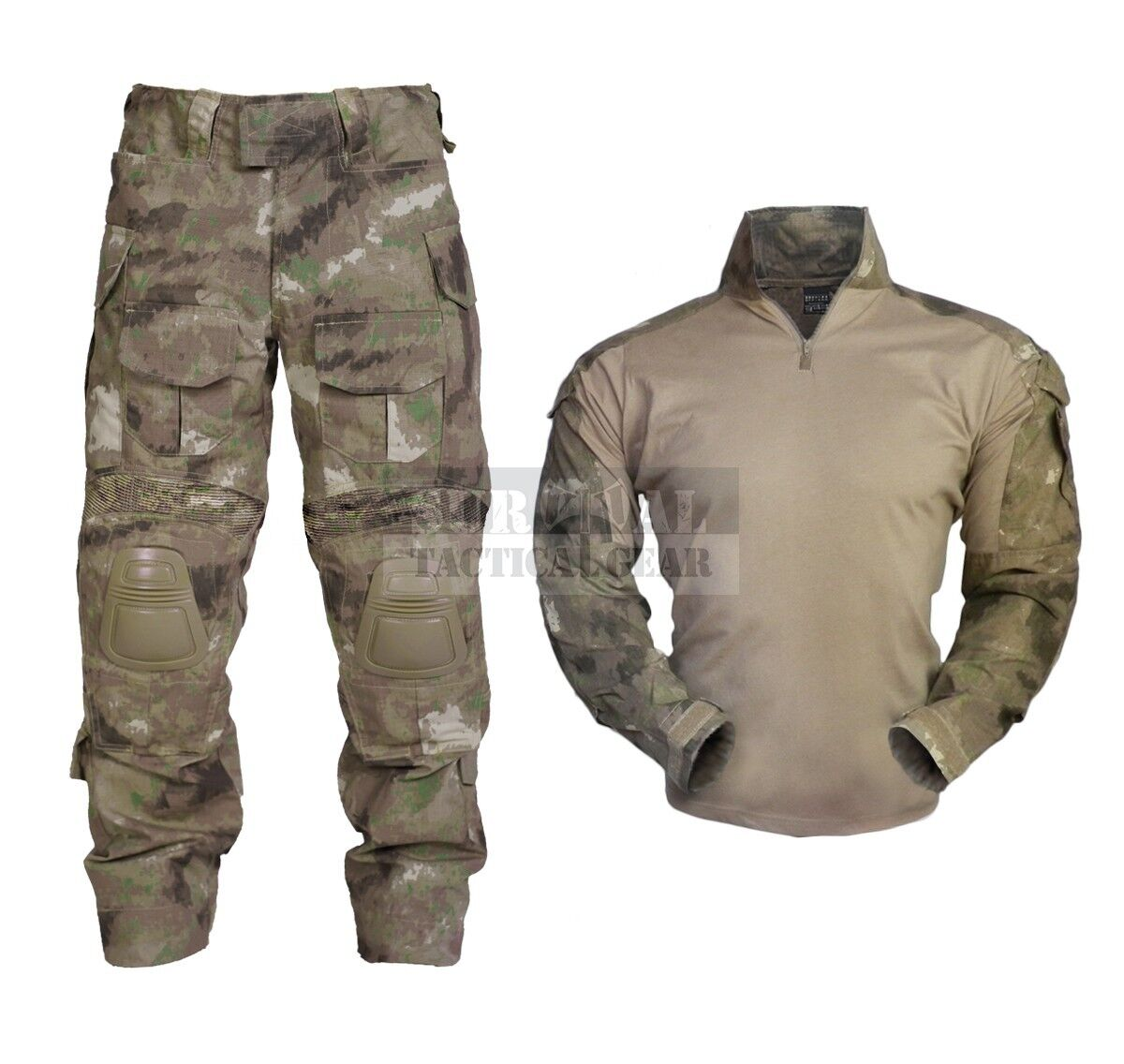 Military Tactical Clothing Army Combat Apparel  Camouflage Uniform Knee Elbow Pad  promotions