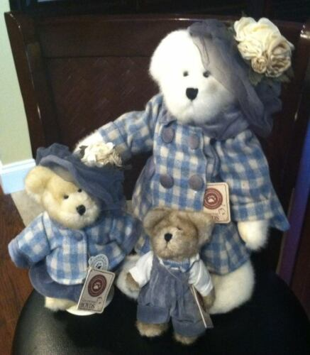 BOYDS Bears Momma Bearsworth, Mary Margaret, & Stuart with tags