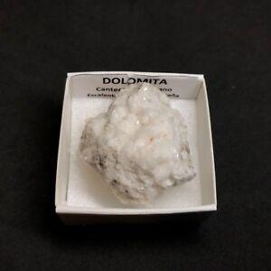 DOLOMITA-Dolomite-Montehano-Escalante-Cantabria-SPAIN-MINERAL-BOX-4x4-H73