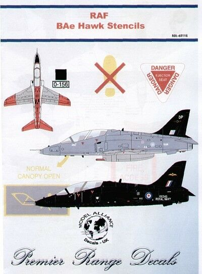 Model Alliance 1//48 BAe Hawk T.1 # 48105